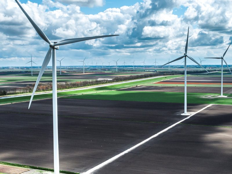 Windfarm Groetpolder Fase II